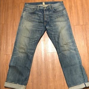 4dc79d571be1c Ralph Lauren RRL Jeans - RRL Low Straight Jean in Midland Wash Selvedge